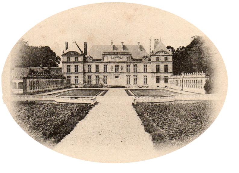 chateau de raray_carte postale3RETOUCH