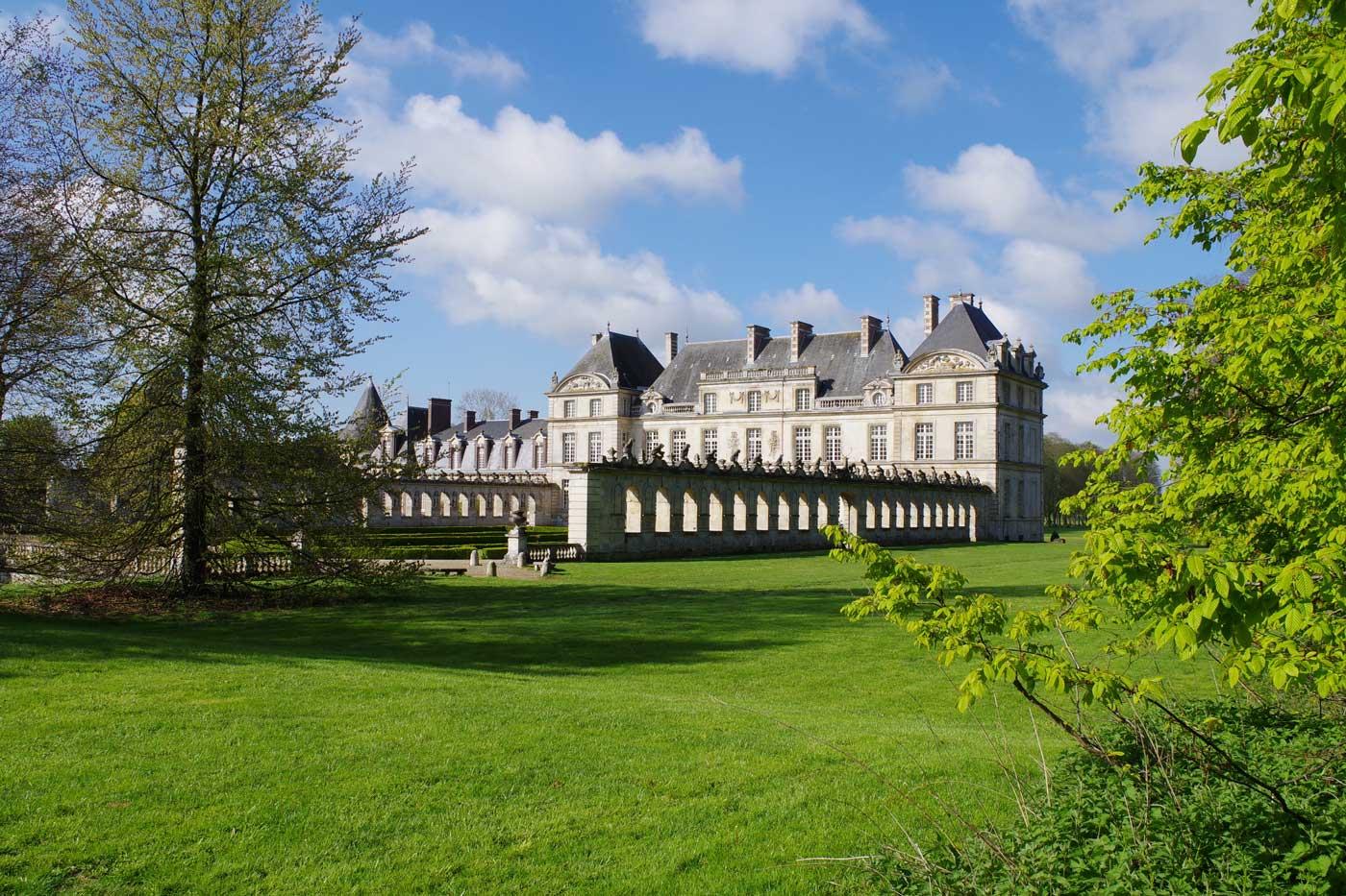 château Raray verdure