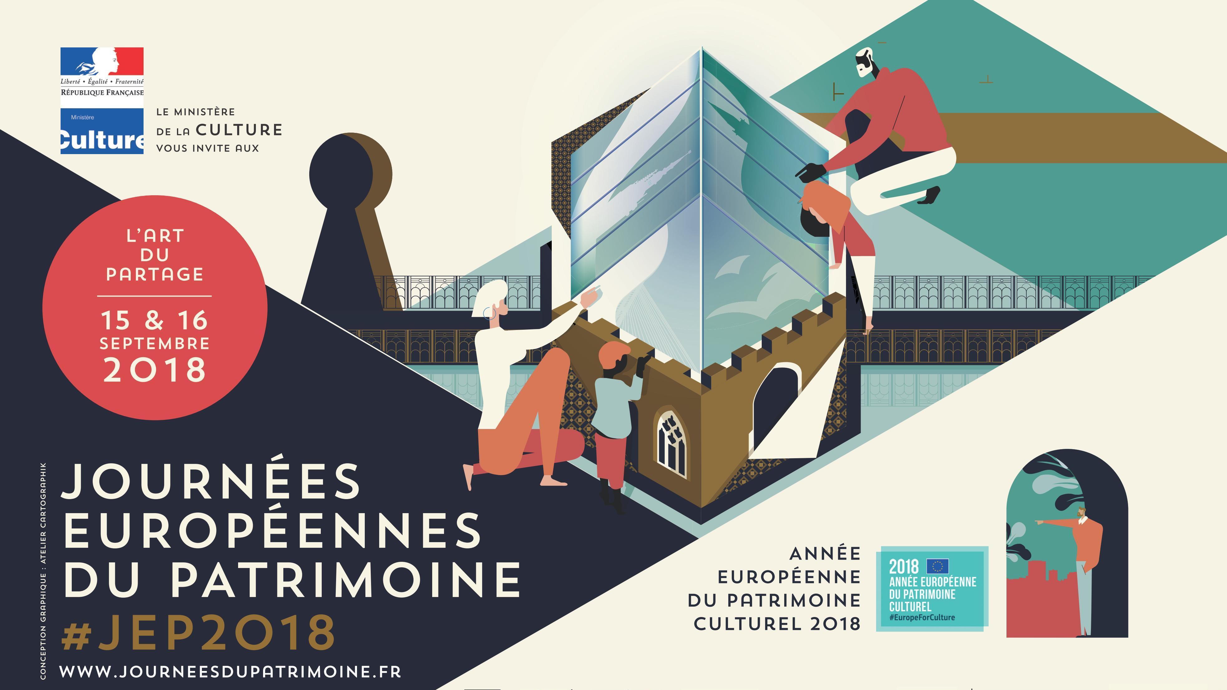 Journées européennes du Patrimoine 2018, Aquilon, visites guidées, Raray, château